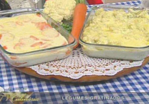 Legumes gratinados