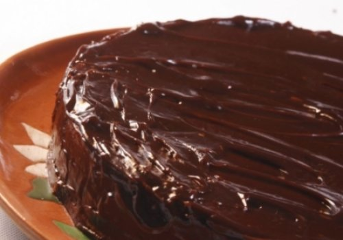 Bolo de Chocolate Amargo