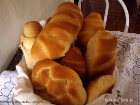 Pão de Leite Condensado com Côco