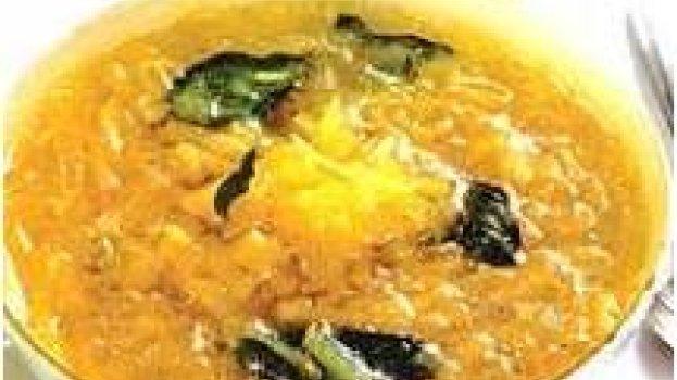 Sopa de Batata e Manjericão
