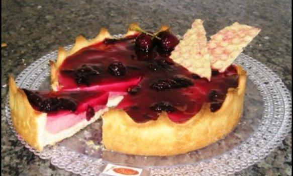 Torta de Amarena Diet