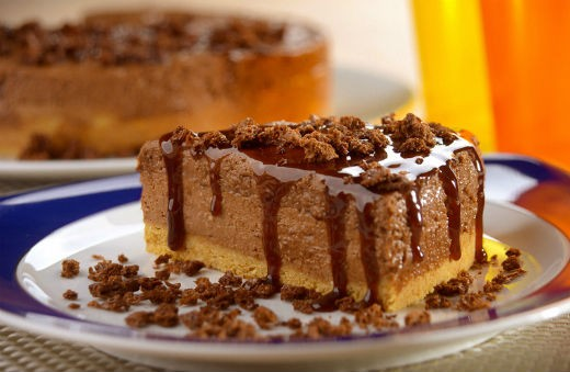 Torta Mousse de Ovomaltine