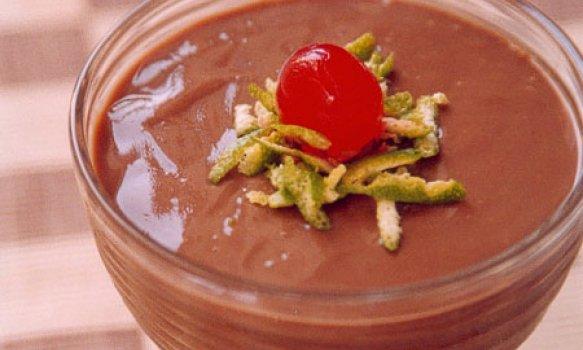Creme de Chocolate com Mistura para Pudim