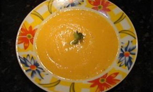Sopa de abóbora madura