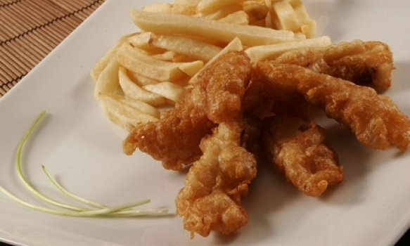 Fish and Chips (Peixe empanado com Batata Frita)