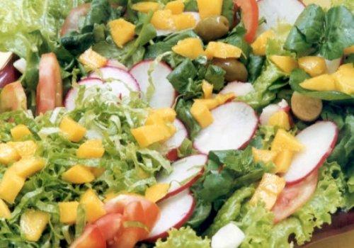 Salada de Palmito e Agrião