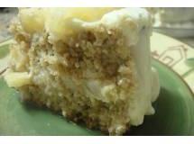 Torta de Aveia com Abacaxi