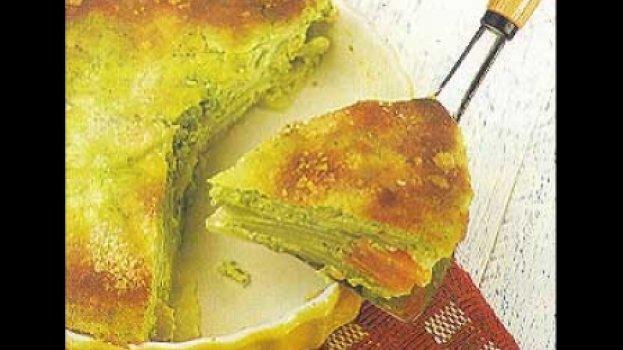 Torta de Batata com Creme de Queijo