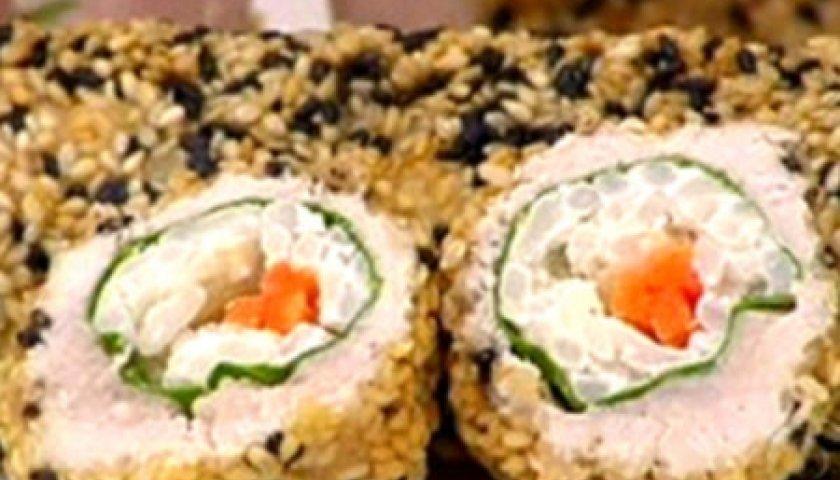 Sushi de Frango Brasileiro
