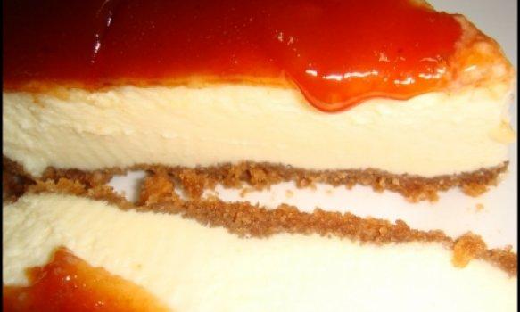 Cheese cake romeu e julieta