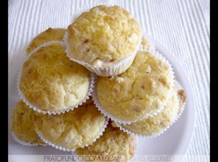 Muffin de Presunto e Queijo