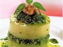 Pesto de rúcula com nozes