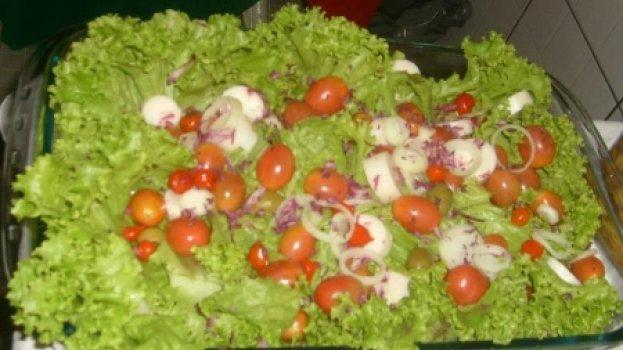 Salada de Alface e Rúcula