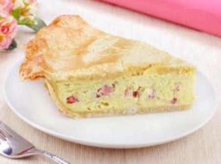 Torta Rápida de Queijo e Presunto | Vera Luci Crispim