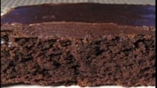 Famoso Biscoito de Chocolate Americano Chamado Brownie