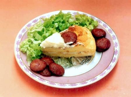Omelete com Molho de Queijo | CyberCook