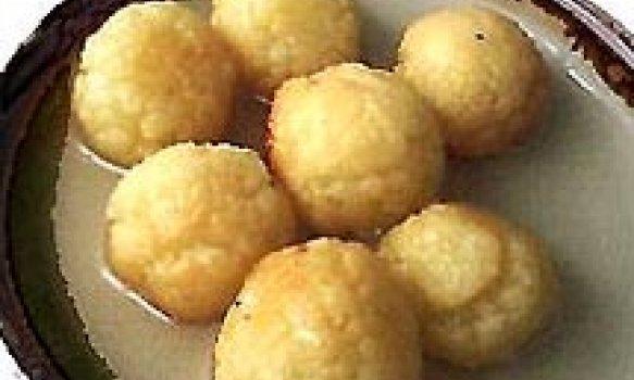 Gulab Jamun (Bolinhos de leite c/ Caramelo)