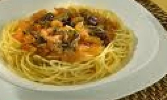 Espaguete à Putanesca