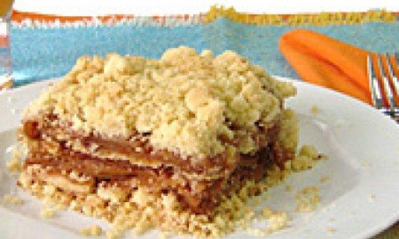 Crumble de maca (torta crocante de maca)