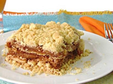Crumble de Maçã (torta crocante de maçã)