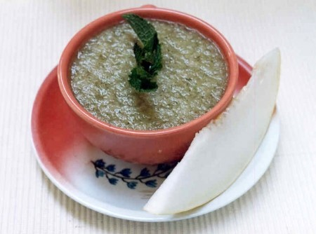 Sopa Fria de Melão