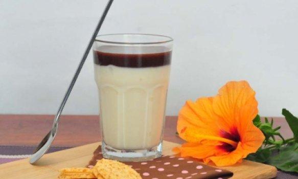 Bavaroise de Café com Leite