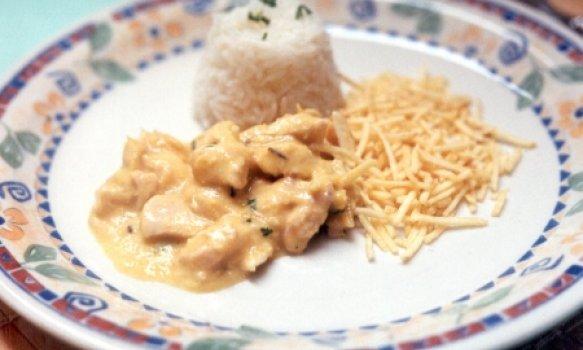 Frango ao Creme de Milho e Curry