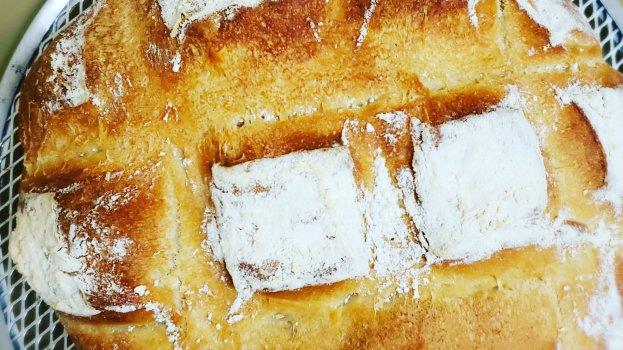 Pão Italiano com Alta Hidratação
