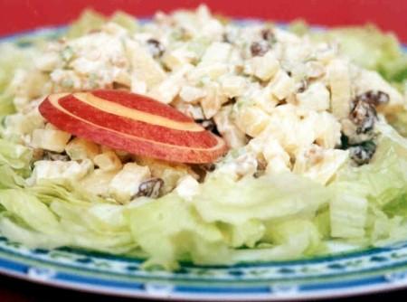 Salada de Alface com Frutas | CyberCook