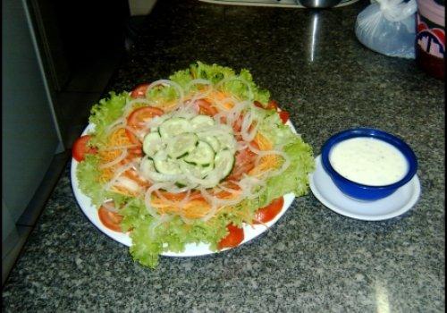 Salada de cenoura com batata