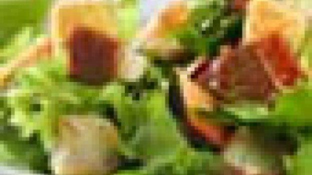 Salada de Agrião com Palmito