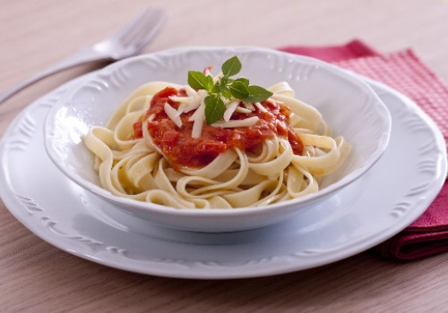 Massa ao Molho de Tomate