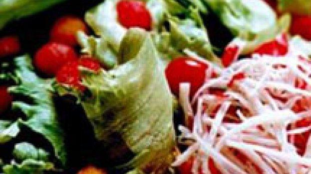 Salada com Papaya, Melão e Manga