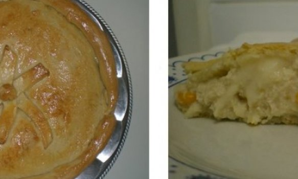Torta de Frango c/ Catupiry