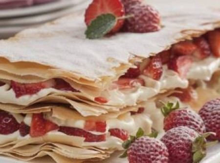 Torta Mil Folhas