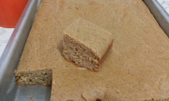 Bolo Salgado de Amendoim