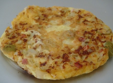Omelete de Talos de Couve-flor | gabriela zembruski nunes