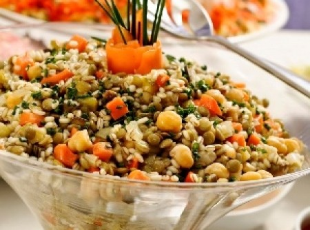Salada de Grãos   Jerusa
