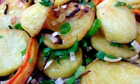 Batatas assadas (do Jamie Oliver)
