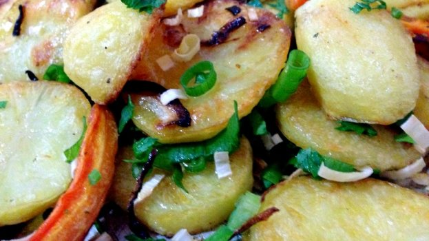 Batatas Assadas do Jamie Oliver