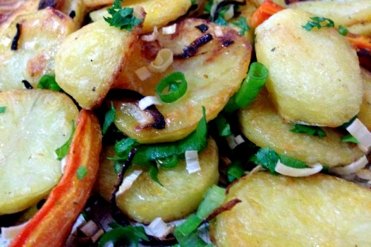 Batatas assadas (do Jamie Oliver) | Gabriela Marques de Lima