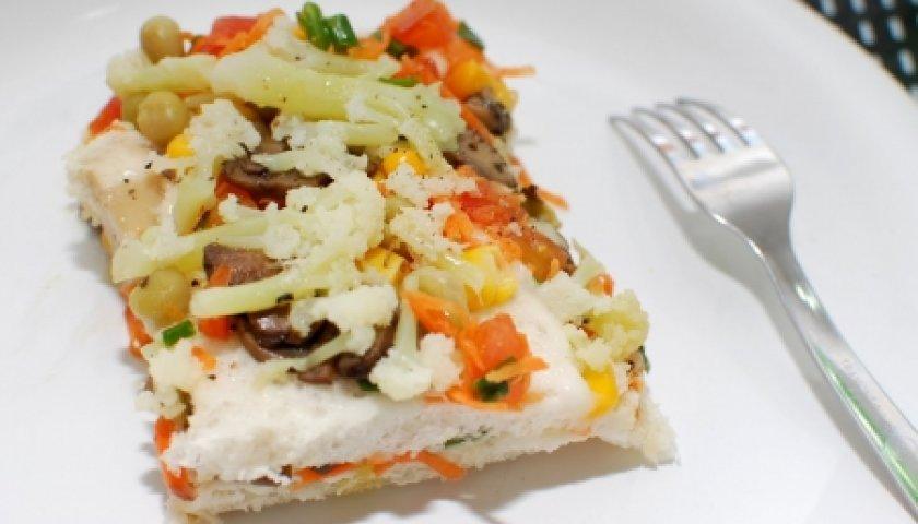Torta Salgada de Portobello vegana