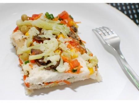 Torta Salgada de Portobello vegana   Simone Caldas Vollbrecht