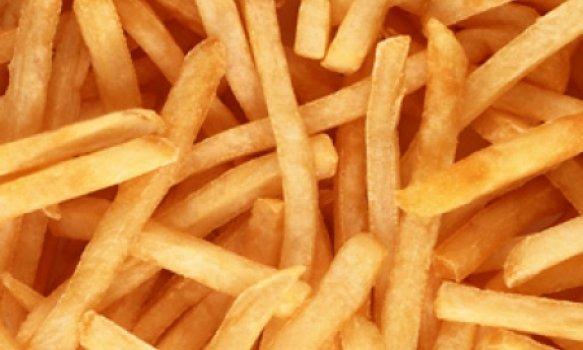 Batatas fritas sequinhas