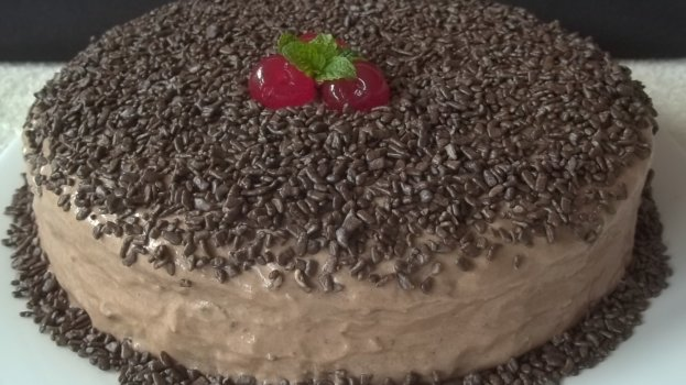Bolo de Chocolate Festivo
