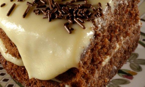 Torta de Chocolate e lLimão
