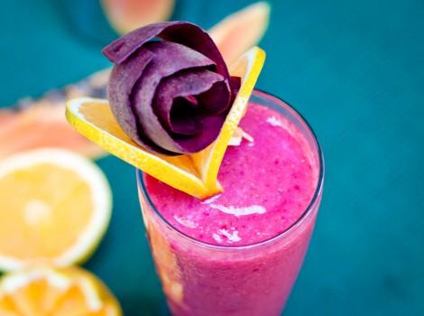 Vitamina energética com fibras | CyberCook