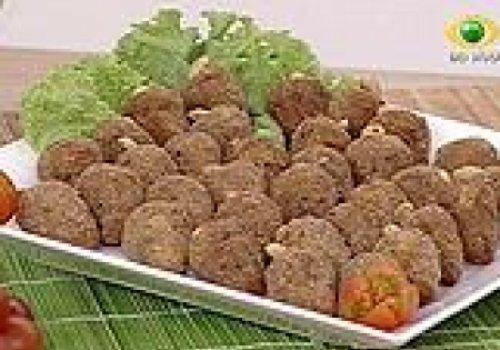 Croquete de carne seca