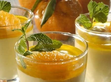Mousse de tangerina | Marcia Aparecida Moretto