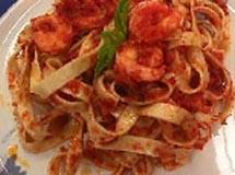 Talharim com Pesto de Tomate Seco